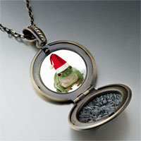 Necklace & Pendants - santa frog pendant necklace Image.