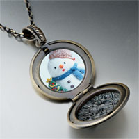 Necklace & Pendants - necklace christmas gifts snowman tree pendant necklace Image.