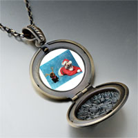 Necklace & Pendants - santa christmas rudolph reindeer dogs pendant necklace Image.