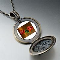 Necklace & Pendants - ho christmas lights pendant necklace Image.