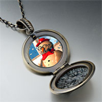 Necklace & Pendants - necklace christmas gifts snowman in pendant necklace Image.