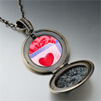 Necklace & Pendants - pink love box pendant necklace Image.