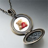 Necklace & Pendants - i love bear pendant necklace Image.