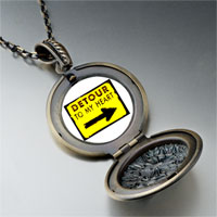 Necklace & Pendants - detour heart pendant necklace Image.