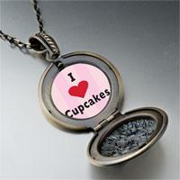 Necklace & Pendants - i heart cupcakes pendant necklace Image.