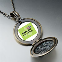 Necklace & Pendants - love dogs pendant necklace Image.