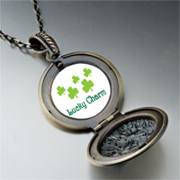Necklace & Pendants - lucky clovers pendant necklace Image.
