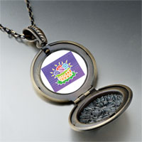 Necklace & Pendants - easter egg basket pendant necklace Image.