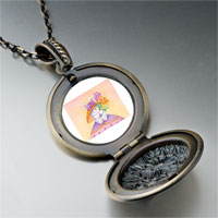 Necklace & Pendants - easter bunny flowers pendant necklace Image.