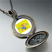 Necklace & Pendants - easter bunny yellow pendant necklace Image.