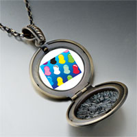 Necklace & Pendants - colorful hearts pendant necklace Image.