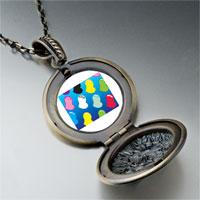 Necklace & Pendants - colorful hearts pendant necklace Image.
