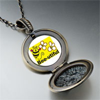 Necklace & Pendants - bee utiful flowers pendant necklace Image.