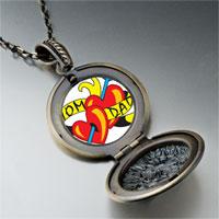 Necklace & Pendants - mom dad heart arrow pendant necklace Image.