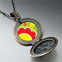 Necklace & Pendants - summer flower pendant necklace Image.