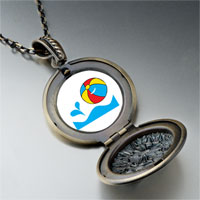 Necklace & Pendants - beach ball pendant necklace Image.