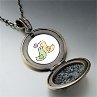 Necklace & Pendants - love doves pendant necklace Image.