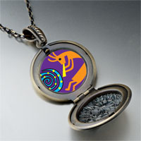 Necklace & Pendants - kokopelli dance pendant necklace Image.