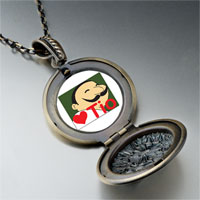 Necklace & Pendants - tio heart person pendant necklace Image.