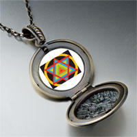 Necklace & Pendants - multicolored star of david pendant necklace Image.