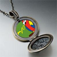 Necklace & Pendants - tio speaking parrot pendant necklace Image.
