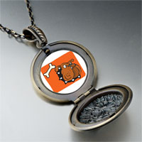 Necklace & Pendants - bulldog photo pendant necklace Image.