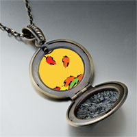 Necklace & Pendants - fallen autumn leaves pendant necklace Image.