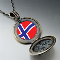 Necklace & Pendants - norway flag pendant necklace Image.