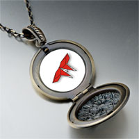 Necklace & Pendants - red origami butterfly pendant necklace Image.