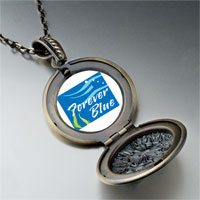 Necklace & Pendants - forever blue pendant necklace Image.