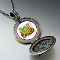 Necklace & Pendants - lovable frog photo pendant necklace Image.