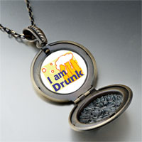 Necklace & Pendants - i am drunk photo pendant necklace Image.