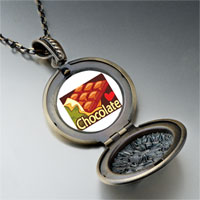 Necklace & Pendants - chocolate love pendant necklace Image.