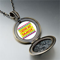 Necklace & Pendants - i love family pendant necklace Image.