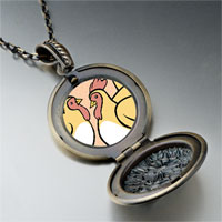 Necklace & Pendants - french hens photo storybook pendant necklace Image.
