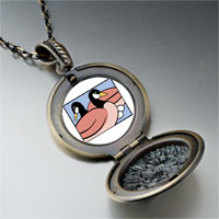 Necklace & Pendants - geese laying photo storybook pendant necklace Image.