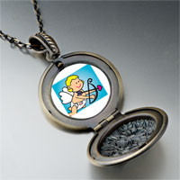 Necklace & Pendants - baby cupid angel pendant necklace Image.