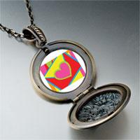 Necklace & Pendants - valentine' s day heart envelope photo pendant necklace Image.