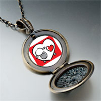 Necklace & Pendants - valentine' s day heart shaped sheep photo pendant necklace Image.