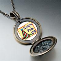 Necklace & Pendants - leap day photo pendant necklace Image.
