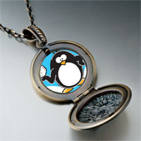 Necklace & Pendants - cartoon theme photo round flower pendant i love winter gifts for women necklace Image.