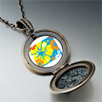 Necklace & Pendants - yellow orange flower pendant necklace Image.