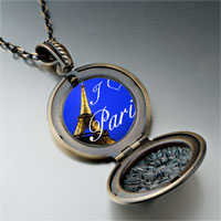 Necklace & Pendants - landmark paris eiffel tower photo pendant necklace Image.