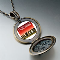 Necklace & Pendants - landmark stonehenge photo pendant necklace Image.