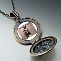 Necklace & Pendants - landmark pee boy photo pendant necklace Image.