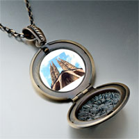 Necklace & Pendants - landmark gothic architecture photo pendant necklace Image.