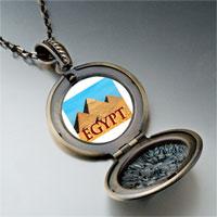 Necklace & Pendants - travel pyramids photo pendant necklace Image.