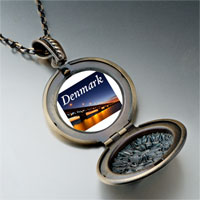 Necklace & Pendants - travel oresund bridge photo pendant necklace Image.