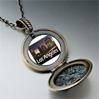 Necklace & Pendants - travel los angeles photo pendant necklace Image.
