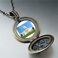 Necklace & Pendants - travel washington dc photo pendant necklace Image.